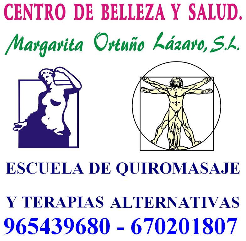 logo Centro de Belleza y Salud Margarita Ortuño Lazaro