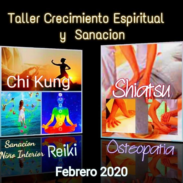 TALLER DE CRECIMIENTO ESPIRITUAL Y SANACION